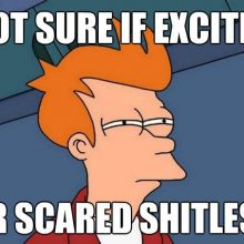 Are You Scared or Excited?