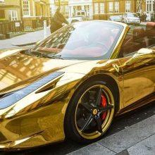 Diamonds and Fancy Cars